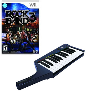 Rock Band 3 Keyboard Bundle (Wii)