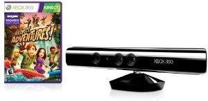 Xbox 360 Kinect Sensor w/ Kinect Adventures Game