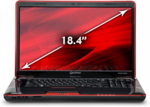 Toshiba Qosmio X505-Q8100X Core i5-2410M 2nd Gen, 1.5GB GeForce 460M