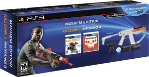 PlayStation Move Mayhem Bundle (Eye camera, Controller, Sharp Shooter, Resistance 3, Killzone 3)