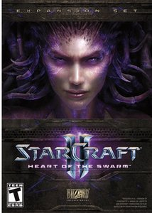 StarCraft II: Heart of the Swarm (PC DVD)