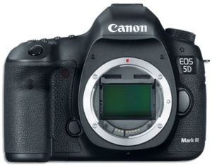 Canon EOS 5D Mark III 22.3 MP DSLR Camera (Body Only)