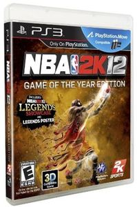 NBA 2K12: Game of the Year Edition (PS3)