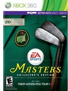 Tiger Woods PGA Tour 13: The Masters Collector's Edition (Xbox 360)