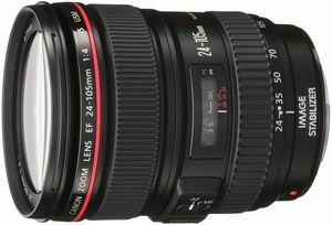 Canon EF 24-105mm f/4L IS USM Lens (Refurbished)