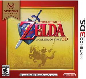 Nintendo Selects - Legend of Zelda: Ocarina of Time 3D (Nintendo 3DS)