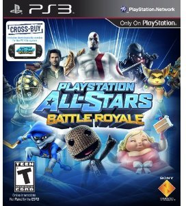 Playstation All Stars Battle Royale (PS3)