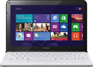 Sony VAIO E Series SVE11125CXW AMD E2-1800, 4GB RAM, Radeon HD 7340M, Win 8