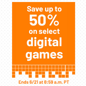 Nintendo Digital Sale at GameStop