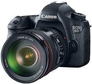 Canon EOS 6D 20.2 MP DSLR with 24-105mm Lens