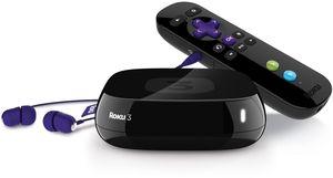 Roku 3 1080p Wireless Streaming Player (Refurbished)