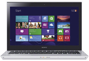 Sony VAIO T13 Ultrabook Ivy Bridge Core i3-3227U, 320GB + 24GB SSD Hybrid HDD