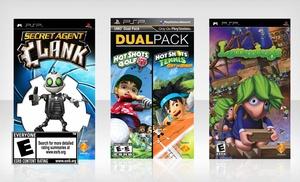 PSP 3000 (PlayStation Portable) Bundle: Lemmings + Hot Shots Golf (2 Games) + Secret Agent Clank