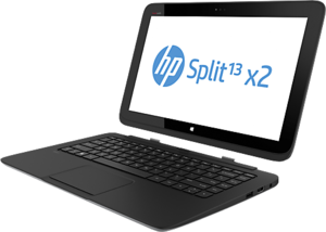 HP Split 13t-m100 x2 Touchscreen, Core i3-4010Y, 64GB SSD