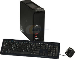 Gateway SX2370-UR13 AMD Quad Core A6-3620, 4GB RAM, Radeon HD 6530D