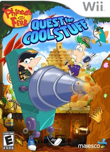 Phineas and Ferb Quest for Cool Stuff (Wii) - Pre-owned