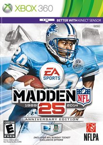 Madden NFL 25 Anniversary Edition (Xbox 360)