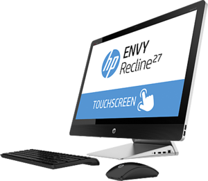 HP Envy Recline 27xt Touch All-in-One, Core i5-4590T, 12GB RAM, GeForce GT 830A