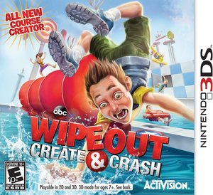 Wipeout: Create & Crash (Nintendo 3DS) - Pre-owned