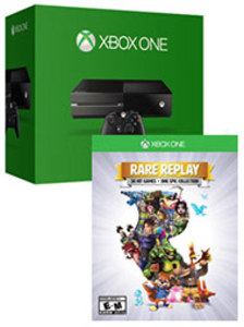 Xbox One 500GB Console + Rare Replay