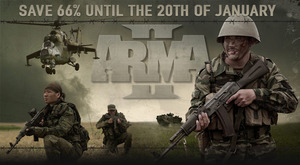 Arma Weekend Sale: Games and DLCs 66% Off (PC Download)