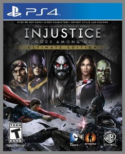 Injustice: Gods Among Us Ultimate Edition (PS4 Download)