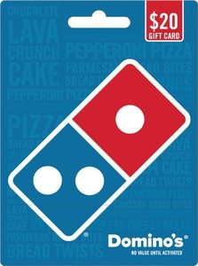$25 Domino's Pizza Gift Card + Bonus $5 Gift Card (Email Delivery)