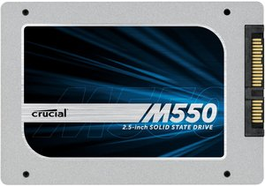 "Crucial M550 SSD 2.5"" 256GB CT256M550SSD1 (Refurbished)"