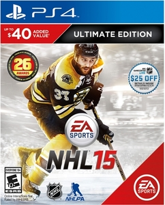 NHL 15 Ultimate Edition (PS4) + $25 eGift Card