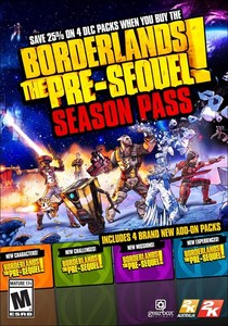 Borderlands: The Pre-Sequel Season Pass (PC DLC)