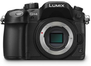 Panasonic Lumix DMC-GH4 Mirrorless Digital Camera (Body Only)