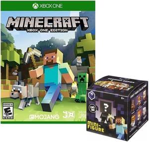 Minecraft (Xbox One) + Mini Figure