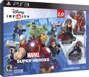 Disney Infinity: Marvel Super Heroes 2.0 Starter Pack (PS3)