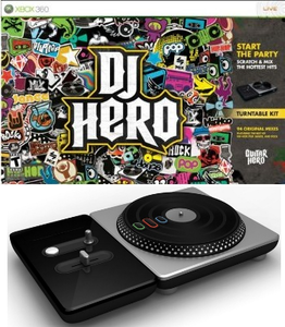 DJ Hero Bundle with Turntable (Xbox 360)