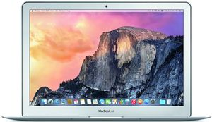 Apple MacBook Air MJVE2LL/A Core i5-5250U, 4GB RAM, 128GB SSD (Refurbished)