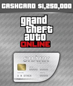 Great White Shark Cash Card ($1,250,000 - PC)