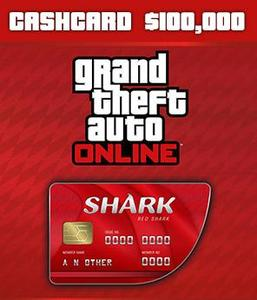 Red Shark Cash Card ($100,000 - PC)