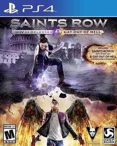 Saints Row IV: Re-elected and Gat Out Of Hell (PS4 Download)