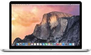 Apple MacBook Pro MGXC2LL/A Core i7-4870HQ 2.5Ghz, GeForce GT 750M, 16GB RAM, 512GB SSD (Refurbished)