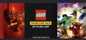 Green Man Gaming Sale: LEGO Titles
