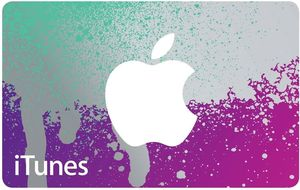 Apple iTunes $75 Gift Card
