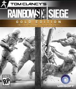 Tom Clancy's Rainbow Six: Siege Gold Edition (PC DVD)