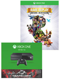Xbox One Gears of War Ultimate Bundle + Rare Replay