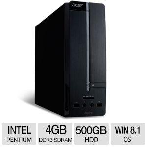 Acer Aspire X AXC-603-UR28 Pentium J2900, 4GB RAM