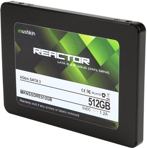 "Mushkin Enhanced Reactor SSD 2.5"" 512GB MKNSSDRE512GB"