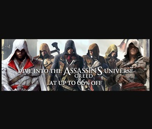 GamersGate Sale: Assassin's Creed Universe