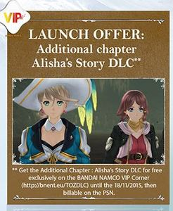 Tales of Zestiria - Alisha's Story Additional Chapter (PC DLC)