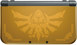 New Nintendo 3DS XL Hyrule Gold Edition (Refurbished)
