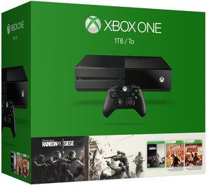Xbox One 1TB  Rainbow Six Siege Bundle + Free Game