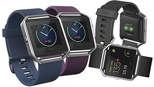 Fitbit Blaze Fitness SmartWatch with Heart Rate Monitor (Refurbished)